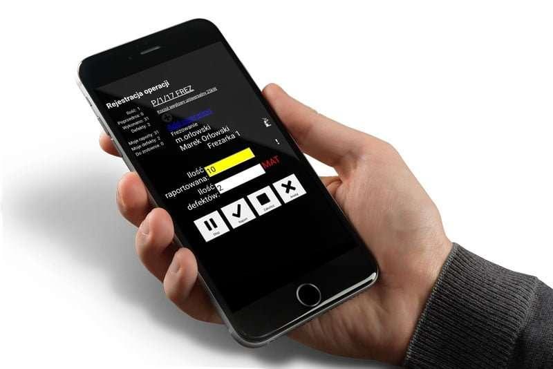 data erp aplikacja mobilna i stanowiskowa